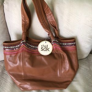 The Sak brand new leather purse